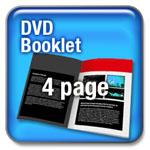 4pp DVD Booklet