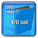 DVD 4 Col Inlay