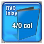 DVD 4 Col Inlay