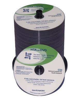 Printed DVDs
