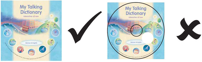 How to supply your disc artwork